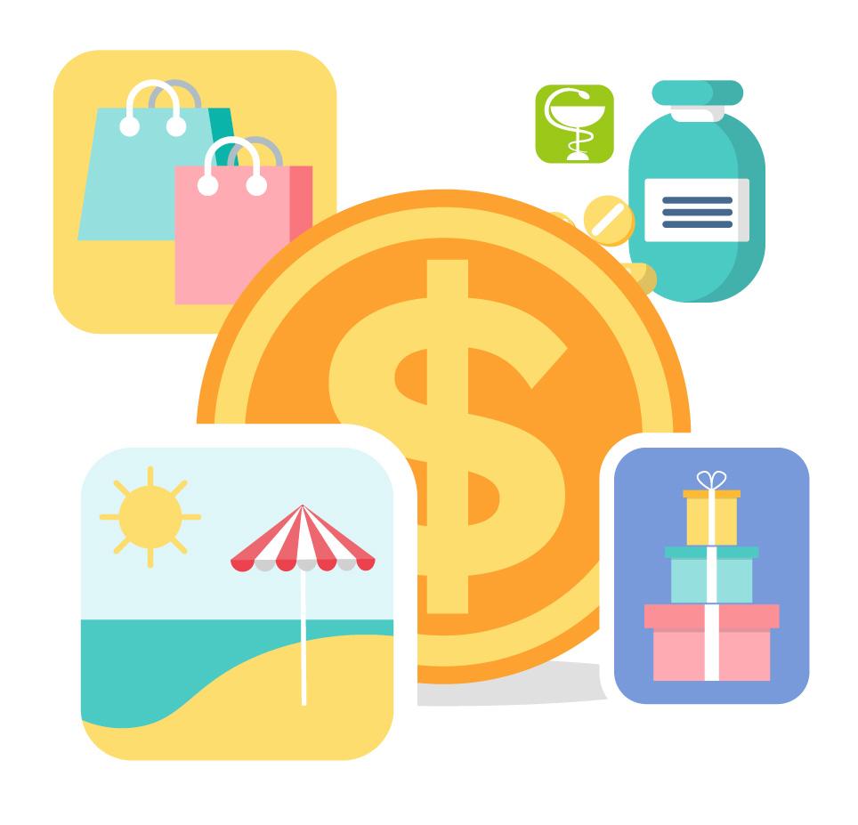 Diferenciar entre gastos fijos y gastos variables te permitirá tener un mejor control sobre tu presupuesto, así llevarás una mejor administración de tu dinero.